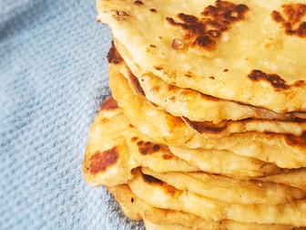 Homemade Bazlama (Turkish Flatbread)