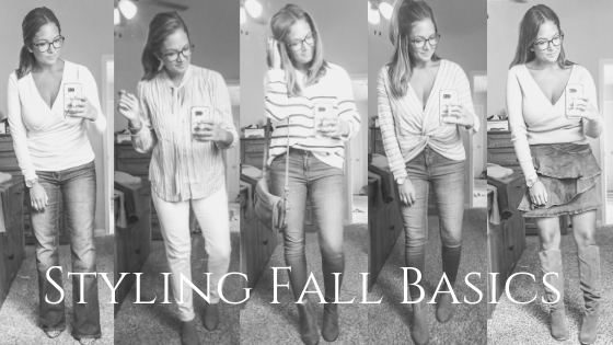 How to Style Fall Basics
