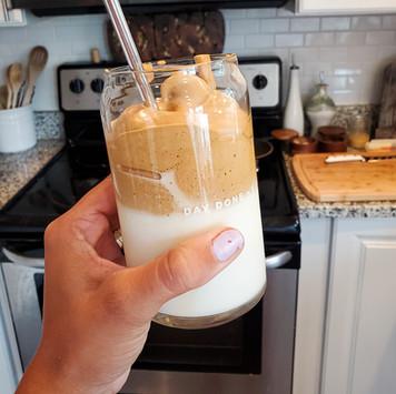 Cinnamon Vanilla Dalgona Coffee