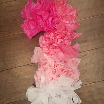 Ombre Tissue Paper Number