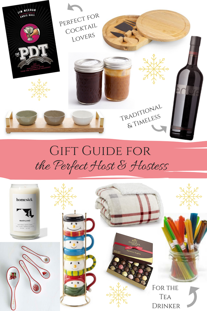 Gift Guide for the Perfect Hostess