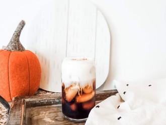 Starbucks Copycat: Skinny Pumpkin Cream Cold Brew