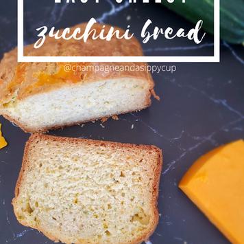 Easy Cheddar Zucchini Bread