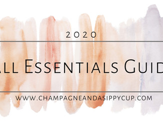 Fall Essentials Guide - 2020