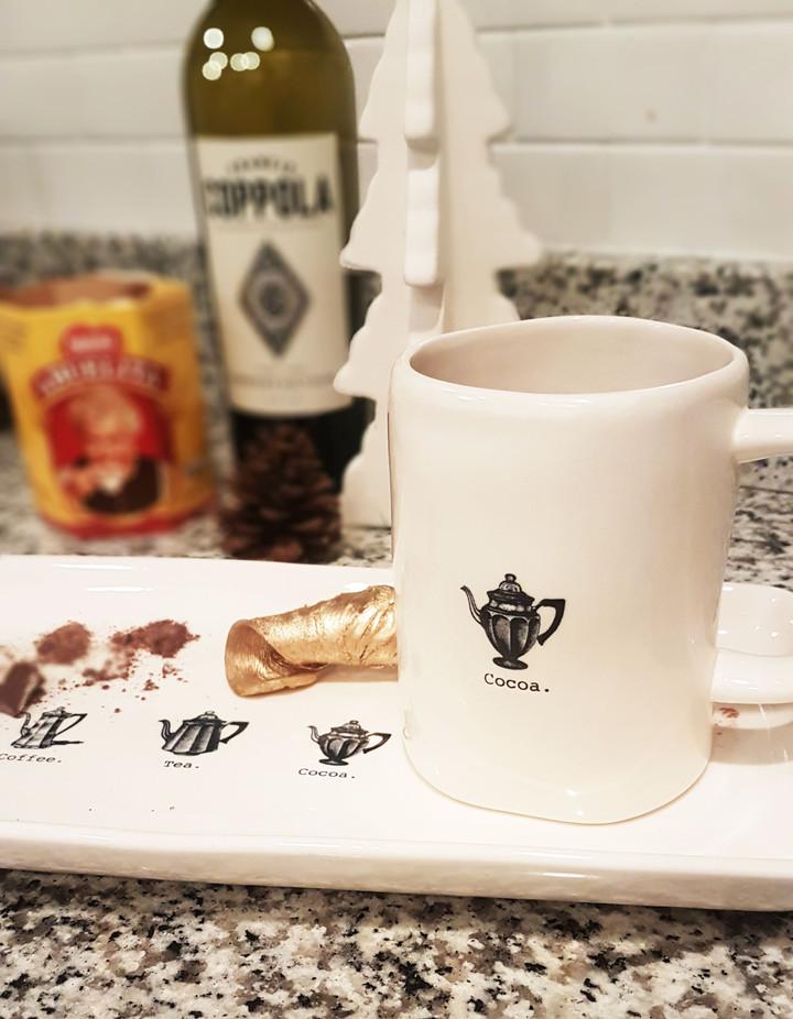 Winter's Best Mashup: Red Wine Hot Chocolate