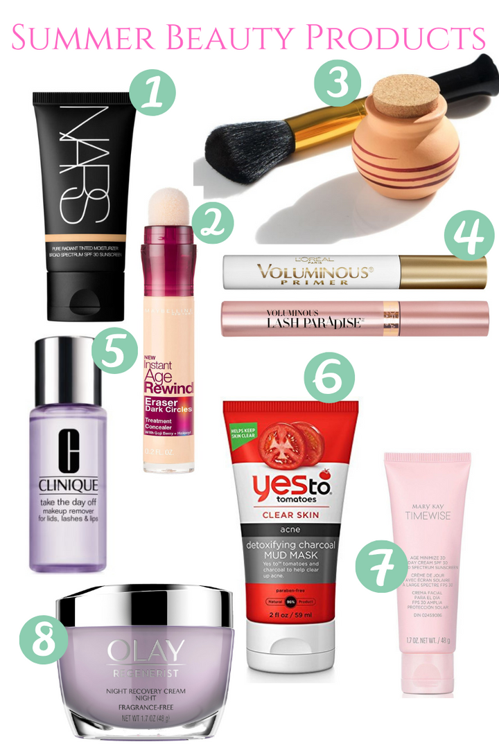 My Favorite Summer Beauty Products