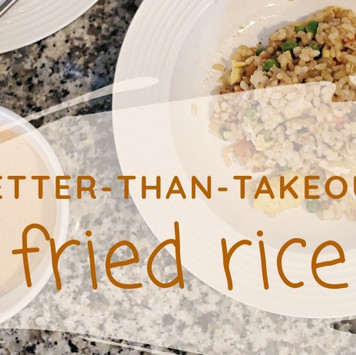 Better-Than-Takeout Fried Rice