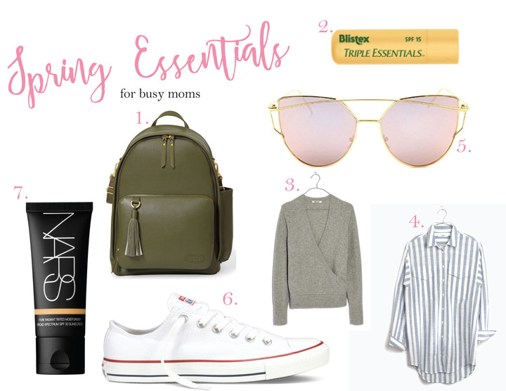 7 Spring Essentials for Busy Moms