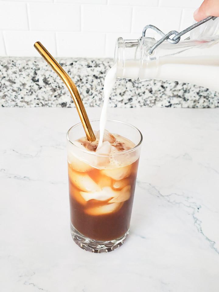 Copycat Recipe: Iced Brown Sugar Oatmilk Shaken Espresso