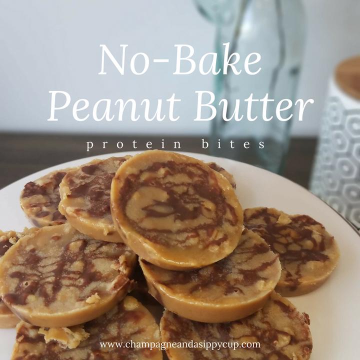 No-Bake Peanut Butter Protein Bites