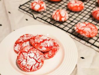 5-Ingredient Crinkle Cookies