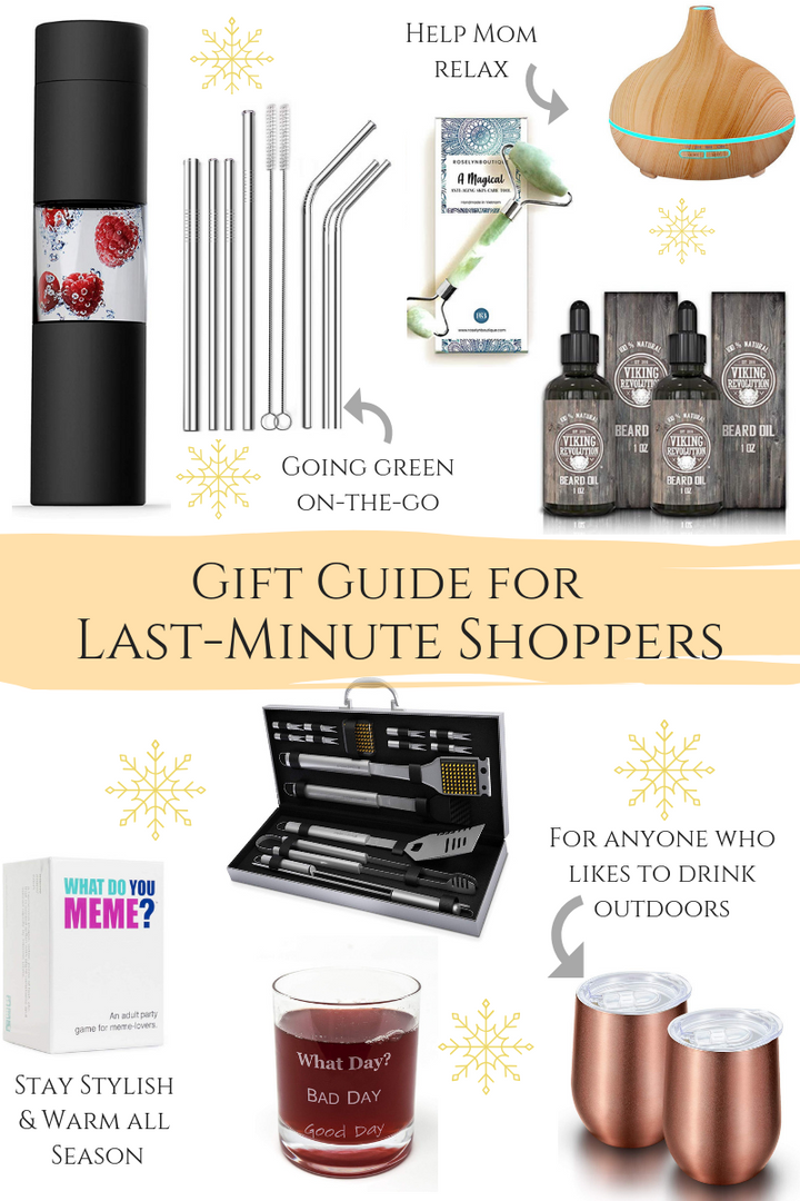 Gift Guide for Last-Minute Shoppers