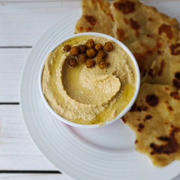 How to Make Roasted Garlic Hummus From Scratch