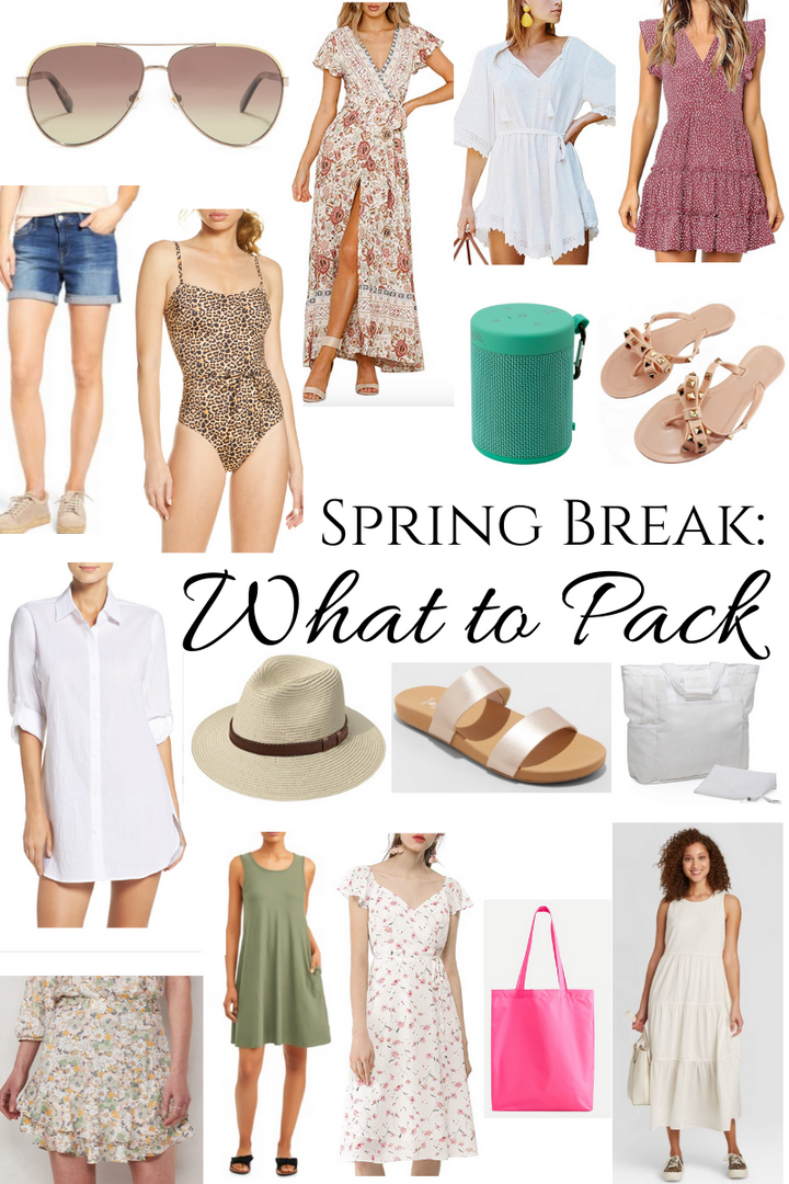 Spring Break: What to Pack