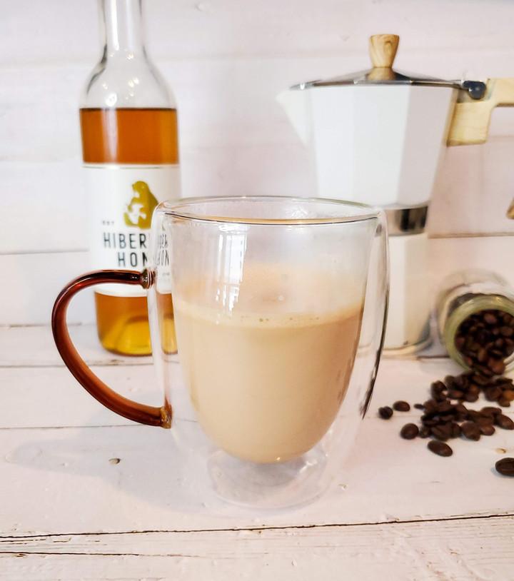 Honey Halva Cardamom Latte