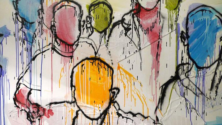 Kouka Ntadi, Humans Lines and movement