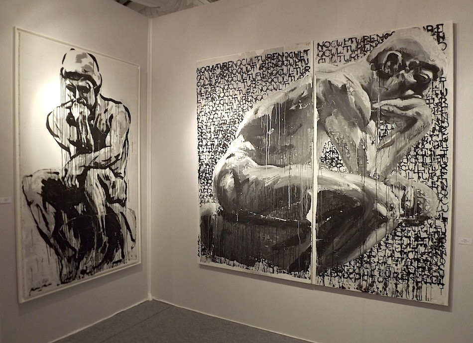 Kouka Ntadi, Hommage au Penseur de Rodin (tribute)