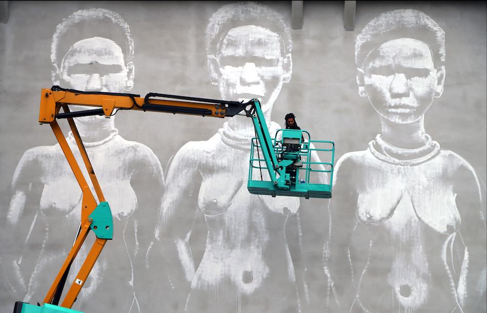 """""""Les 3 Grâces"""" par Kouka Ntadi"""