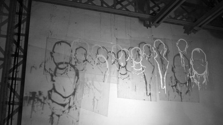 Kouka Ntadi, Humans, Lines and Movement