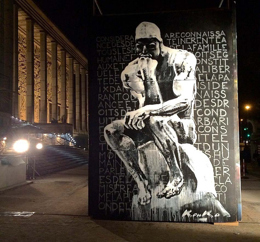 Kouka Ntadi: Urban Art Paris