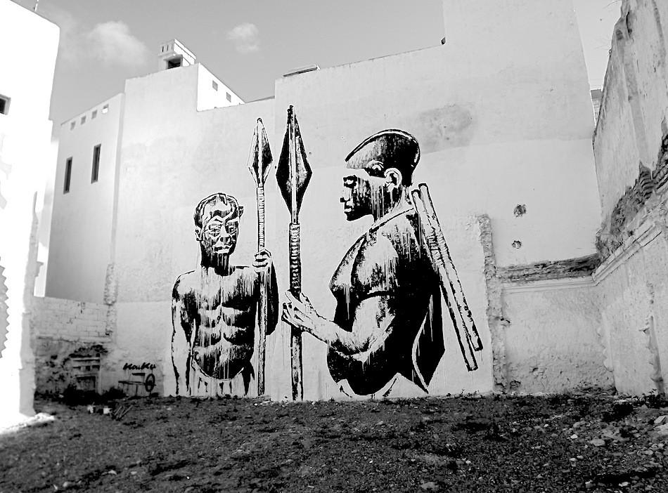 """Guerriers Bantu"", Kouka Ntadi"