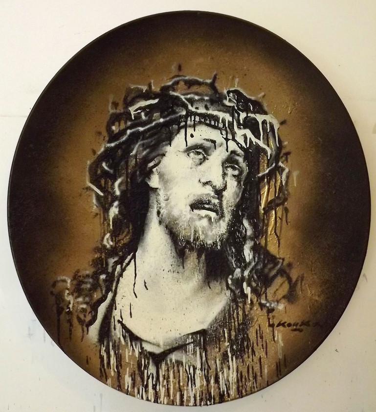 """Kouka Ntadi """"Jesus"""" portrait"""