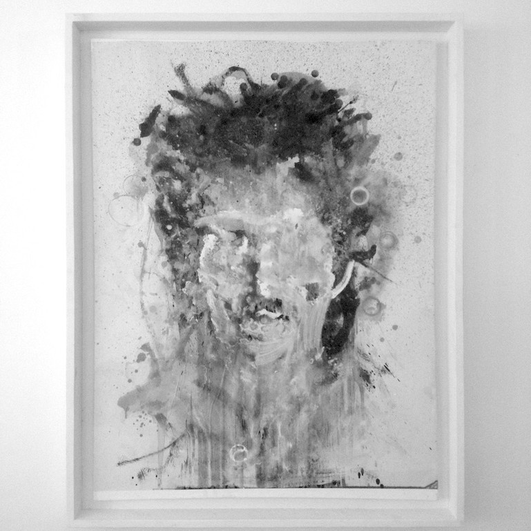 """Kouka Ntadi, """"Autoportrait"""""""