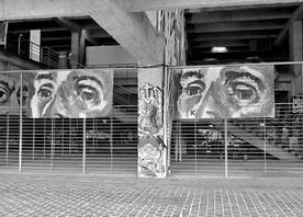Kouka Ntadi, urban art installation