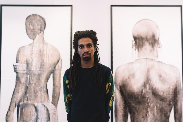 Kouka Ntadi portait d'artiste
