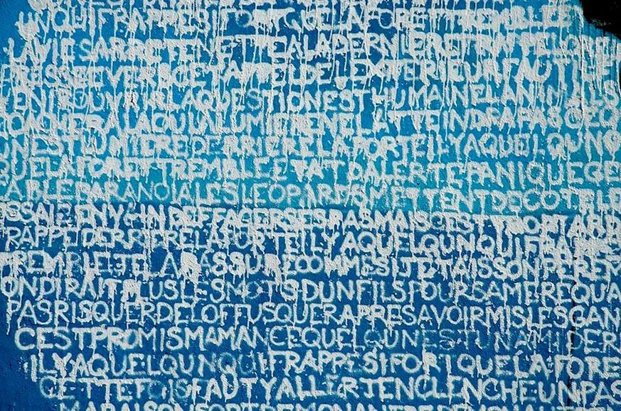 Kouka Ntadi, Graffiti, writings and Urban Art