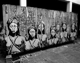 Kouka Ntadi, artist studio