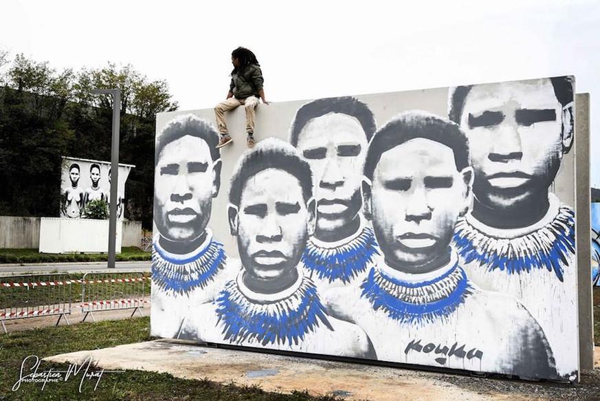Murals by Kouka Ntadi