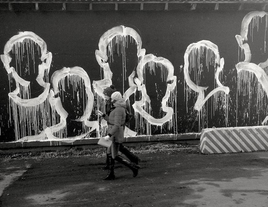 Kouka Ntadi, Migrants, Street Art Museum