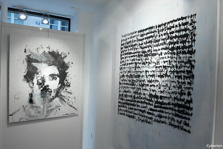 Kouka Ntadi, autoportraits