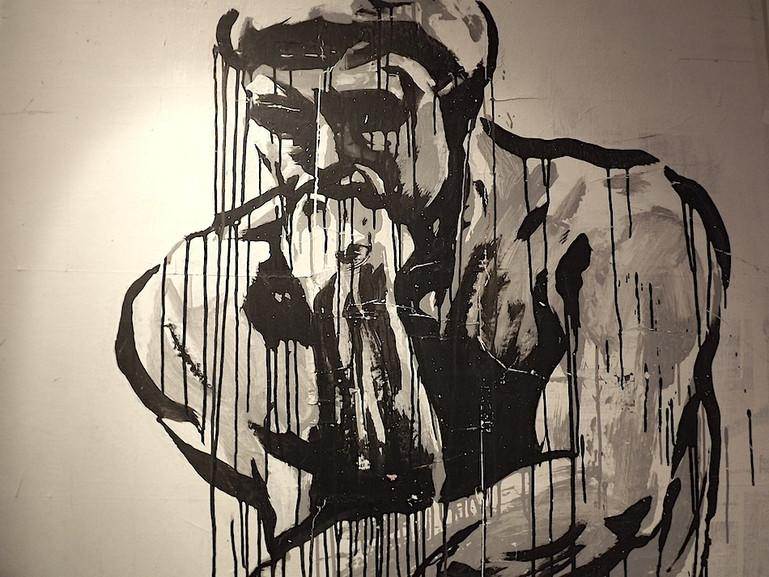Kouka Ntadi, Penseur de Rodin