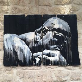 """Kouka, """"Penseur"""" d'après Rodin"""
