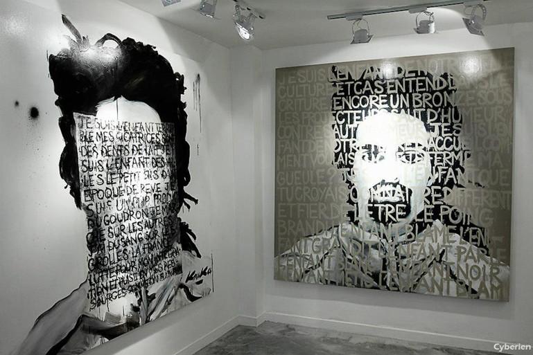 Kouka Ntadi, selfportraits