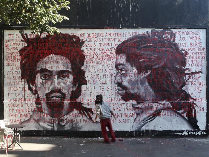 Kouka, Urban Art Intervention