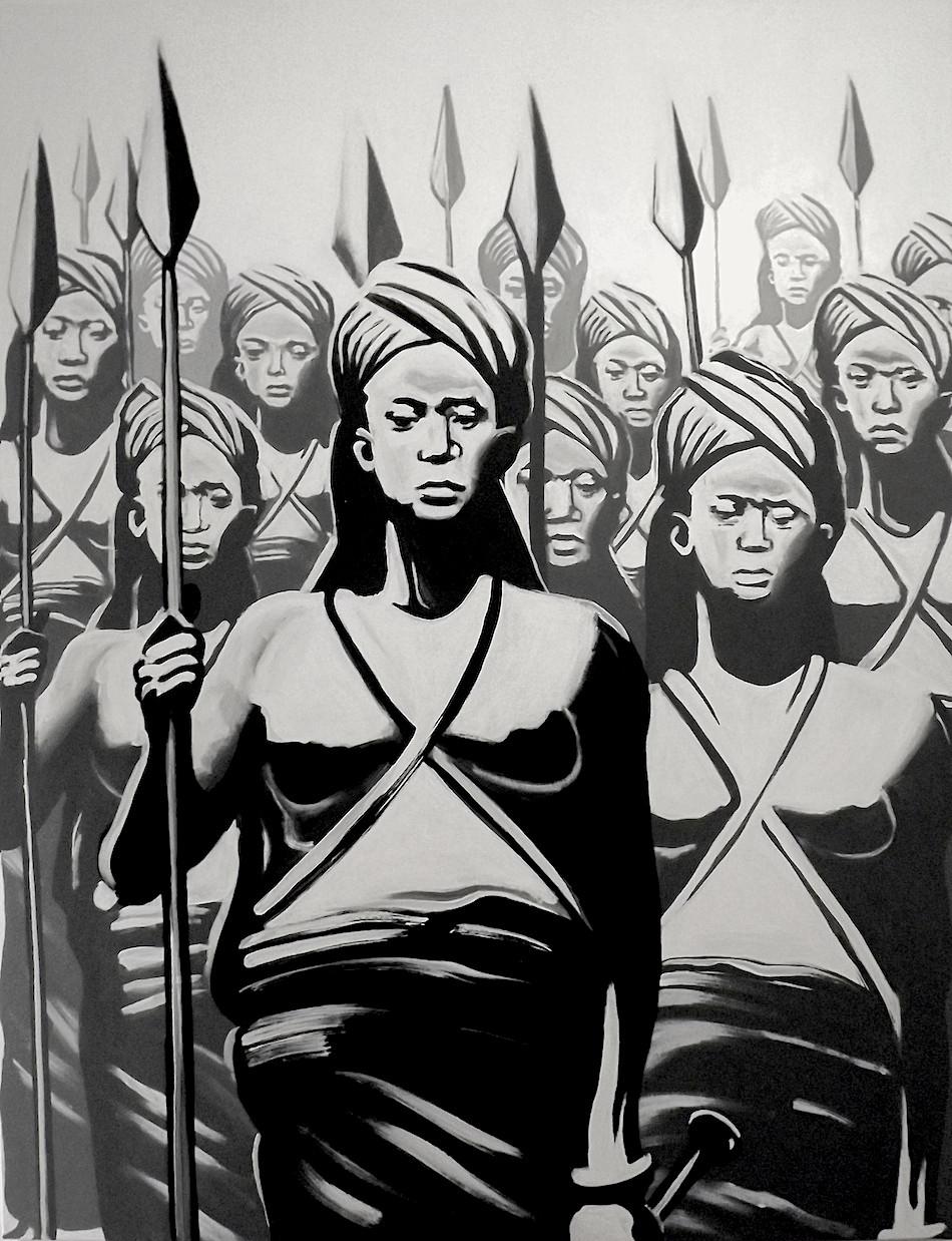 "Kouka Ntadi ""Guerriers Bantu"""