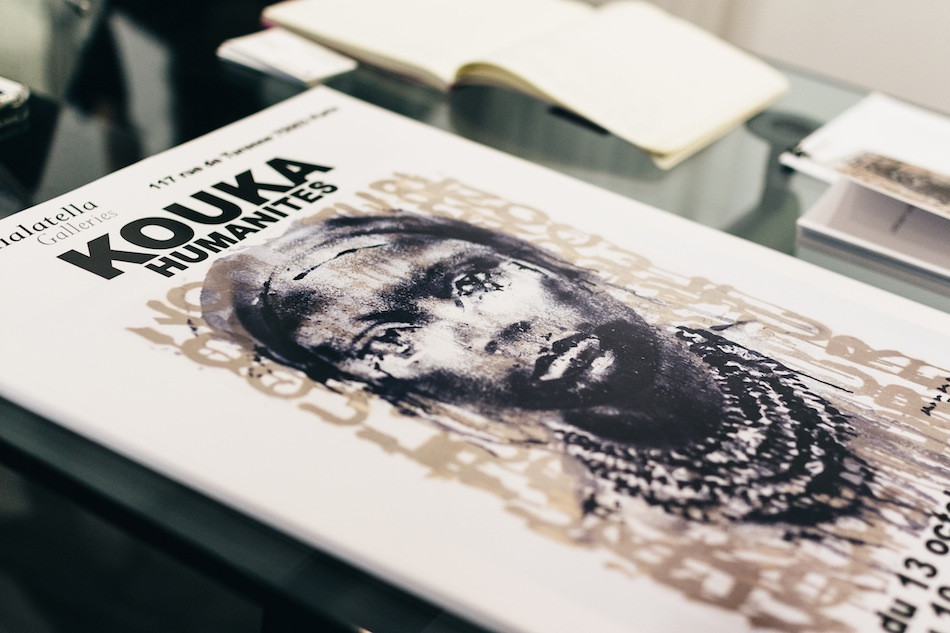 "Kouka Ntadi ""Humanités"", Galerie Taglialatella Paris"