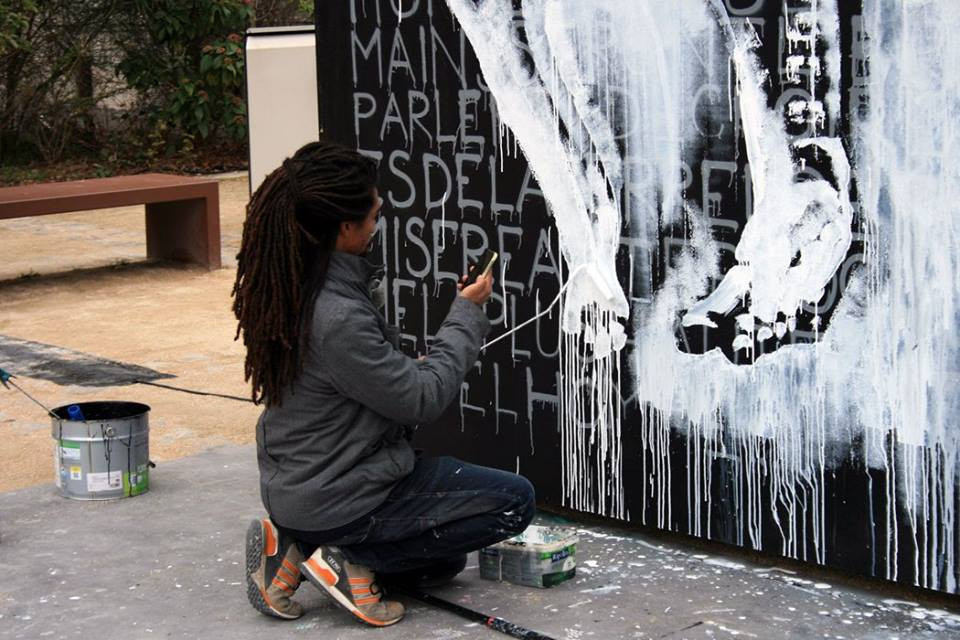 Kouka Ntadi: Live Painting and Urban Art