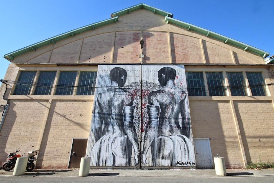 Kouka Ntadi, Urban Art