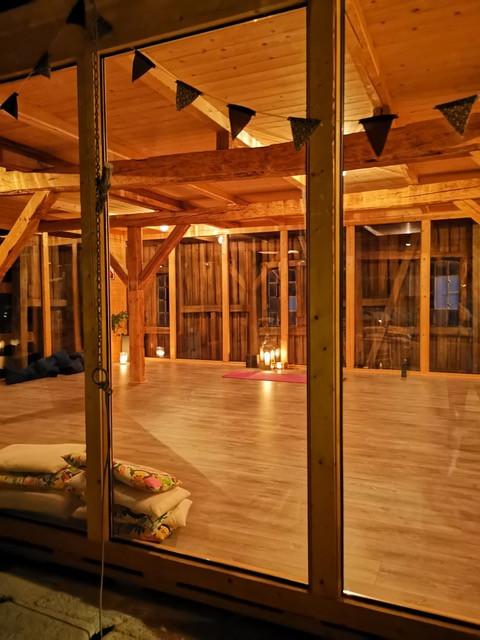 Rommet vi skal være i på Yogalåven.