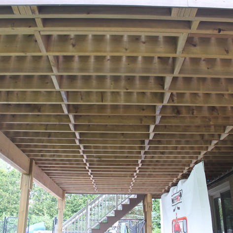 Every deck we build strictly adheres to Ontario and local building codes. It's not enought o have a great looking deck- it has to be safe and long-lasting, too.