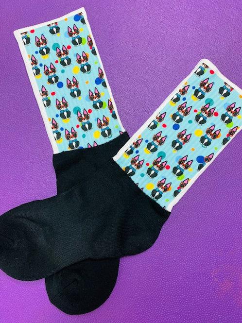 Beans the Boston Socks