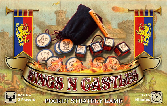 Kings N Castles Pocket Strategy Game