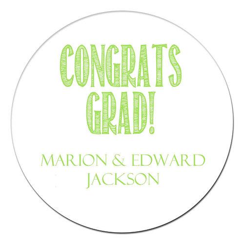 Congrats Grad Lime