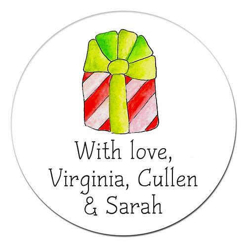 Preppy Gift Sticker