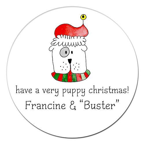 Goofy Pup Sticker