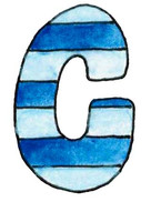 C L Blue Stripe